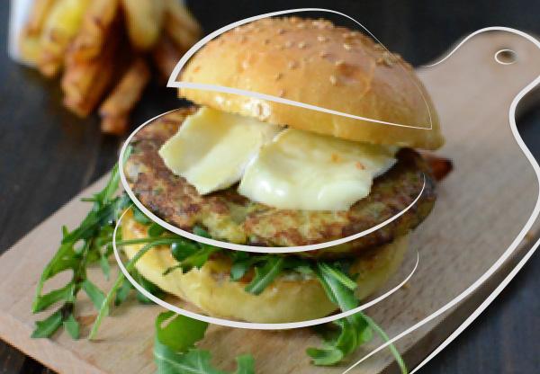 Cheesburger 100% pommes de terre